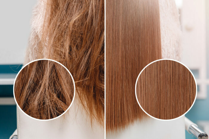頭髮類型2. 缺油型