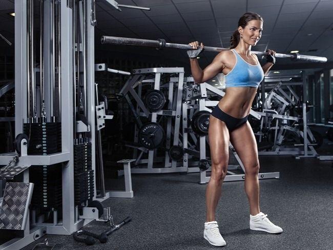 練馬甲線重點2. 增加肌肉