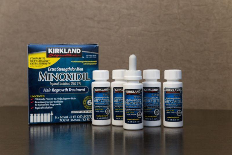 生髮藥物及藥用生髮水