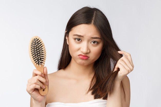 女性脫髮2. 休止期脫髮